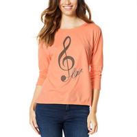 Music Note Love Raglan