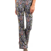 Bring The Funk Paisley Print Flare Pants