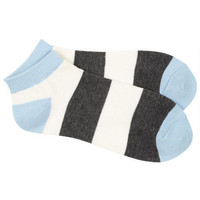 Stripe Shortie Socks -