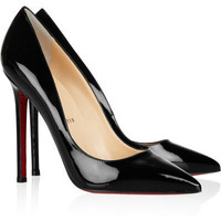 Christian Louboutin - pigalle 120 Patent-leather Pumps on LoLoBu