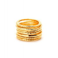 Gorjana - Stackable Rings on LoLoBu