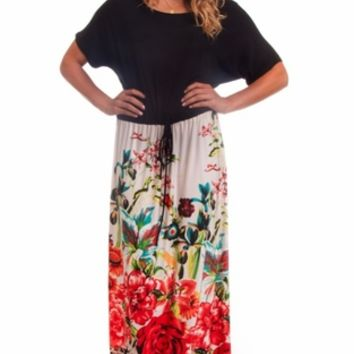 Boyfriend Fit Relaxed Maxi Dress
