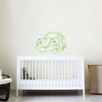 Wall Vinyl Decal Cartoon Car Nursery Room Art Decor Removable Stylish Sticker Mural Unique Design for Any Room 209