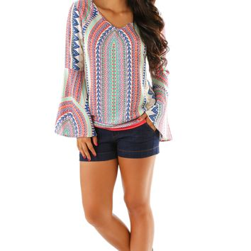 Dance Away Top: Multi