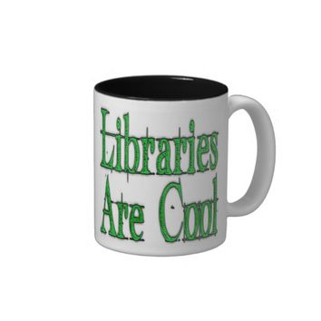 Libraries Are Cool Green