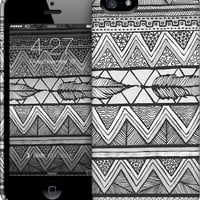 Two Feathers Monochrome... iPhone by Lisa Argyropoulos | Nuvango