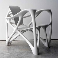 Bone Armchair with Unique Design a futuristic by Joris Laarman - Top Chair Design