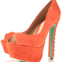 **CJG Stud Back Peeptoe Court Shoes by CJG - Topshop USA