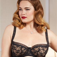 Dita Von Teese Sheer Witchery Full Figure Balconette Bra Y90954 at BareNecessities.com