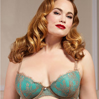 Dita Von Teese Savoir Faire Full Figure Bra Y98957 at BareNecessities.com