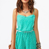 Confetti Dot Romper in  Clothes at Nasty Gal
