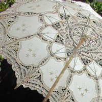 Lace-Parasols: &quot;Inez&quot; Elegant Parasol