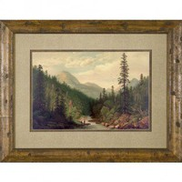 Phoenix Galleries Mt. Fishing Framed Print - HP842 - All Wall Art - Wall Art & Coverings - Decor