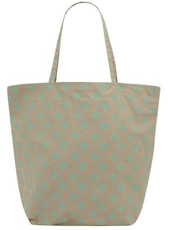 Palm tree shopper tote - Handbags & Purses - Accessories - Dorothy Perkins