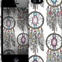 gemstone dreamcatcher iPhone by Sharon Turner | Nuvango