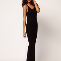 ASOS | ASOS Maxi Dress With Back Split at ASOS