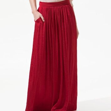 LONG SKIRT WITH POCKETS - Woman - New this week - ZARA United States