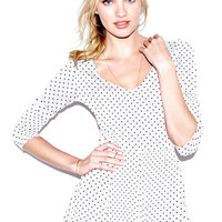 Peplum Ballet Tee - Body Tees - Victoria's Secret