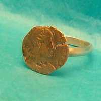 Genuine Roman Imperial Coin Ring