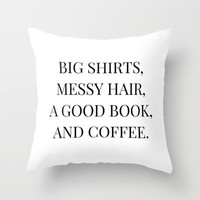 Good Day Throw Pillow by Liv B