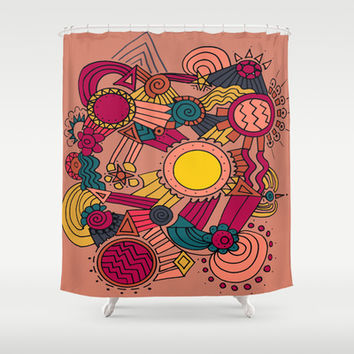 The Earthly Environment Shower Curtain by DuckyB (Brandi)