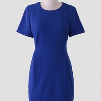 Feeling Pretty Sheath Dress In Blue