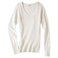 Junior's Pointelle Sweater