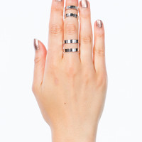 Cut-Out Ring Duo