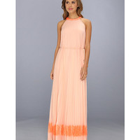 Ted Baker Marryy Pleated Lace Panels Maxi