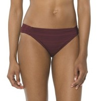 Women's Hipster Swim Bottom -Plum