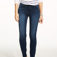 Liv High-Rise Jeggings in Dark Wash