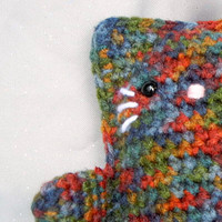 Amigurumi Kitty Crochet Cat MultiColor FallToned by CroweShea