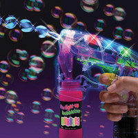 LIGHT-UP BUBBLEIZER BUBBLE GUN