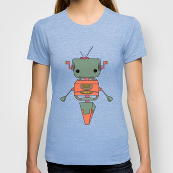 Random Robot T-shirt by Ashley