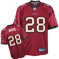 New Reebok On Field NFL Derrick Ward Tampa Bay Buccaneers Jersey YOUTH Size XL (18-20)
