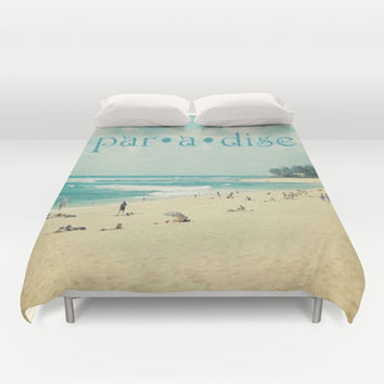 paradise Duvet Cover by Sylvia Cook Photography