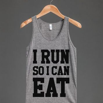I RUN SO I CAN EAT TANK TOP ID7251131
