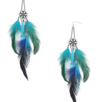 Bohemian Feather Earrings | FOREVER21 - 1000027910