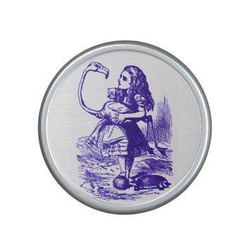Alice in Wonderland Flamingo Purple Bluetooth