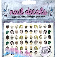 BREAKING BAD NAIL DECALS