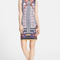 Clover Canyon 'Irish Box' Print Neoprene Sheath Dress | Nordstrom