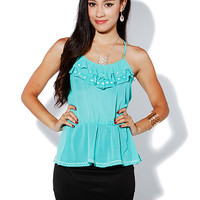 Papaya Clothing Online :: RUFFLE CAMI TOP