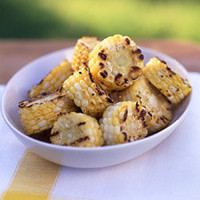 Grilled Corn Disks -- Martha Stewart Food