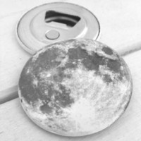 'Moon' Magnetic Bottle Opener