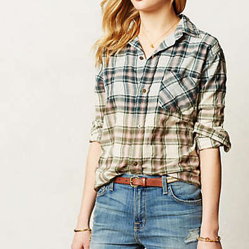 Ombre Plaid Buttondown