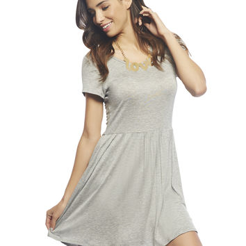 Solid Babydoll Dress | Wet Seal