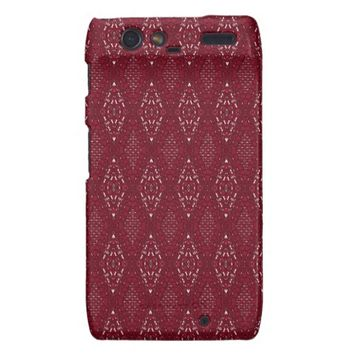 Pave Diamonds Rubies Motorola Droid Razr Case