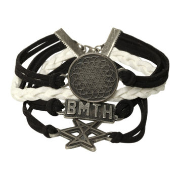 Bring Me The Horizon Logo Bracelet