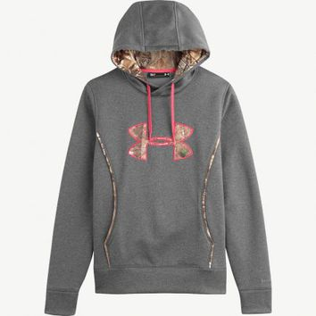 Under Armour® Girl's Camo Hoodies | Women's Under Armour Carbon Storm Hoodie