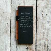 Chalkboard Tablet by PegandAwl on Etsy